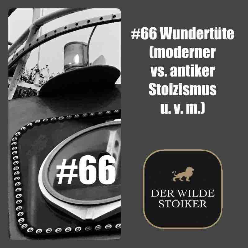 #66 Wundertüte (moderner vs. antiker Stoizismus u. v. m.)