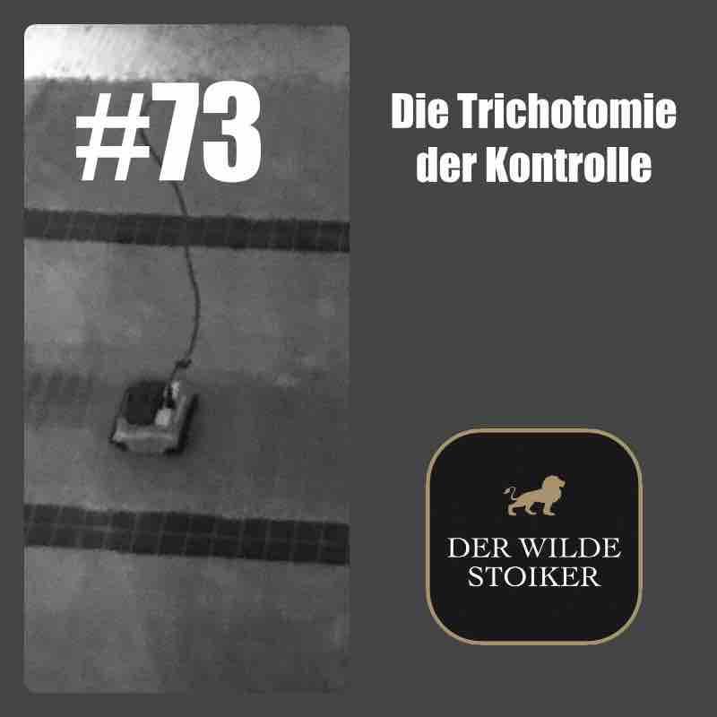 #73 Die Trichotomie der Kontrolle (ist sinnlos) - DER WILDE STOIKER