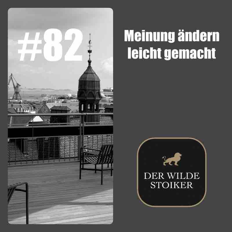 #82 Meinung ändern leicht gemacht - DER WILDE STOIKER