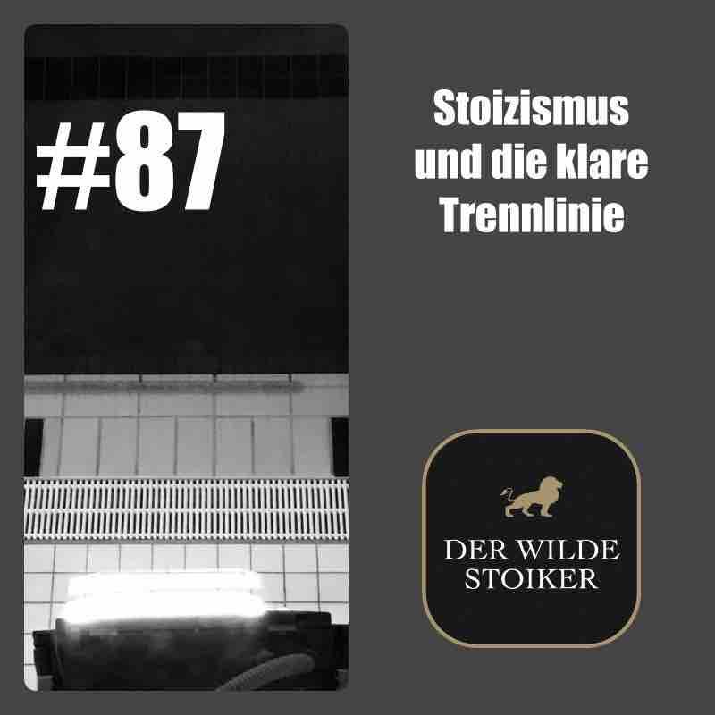 #87 Stoizismus und die klare Trennlinie - DER WILDE STOIKER